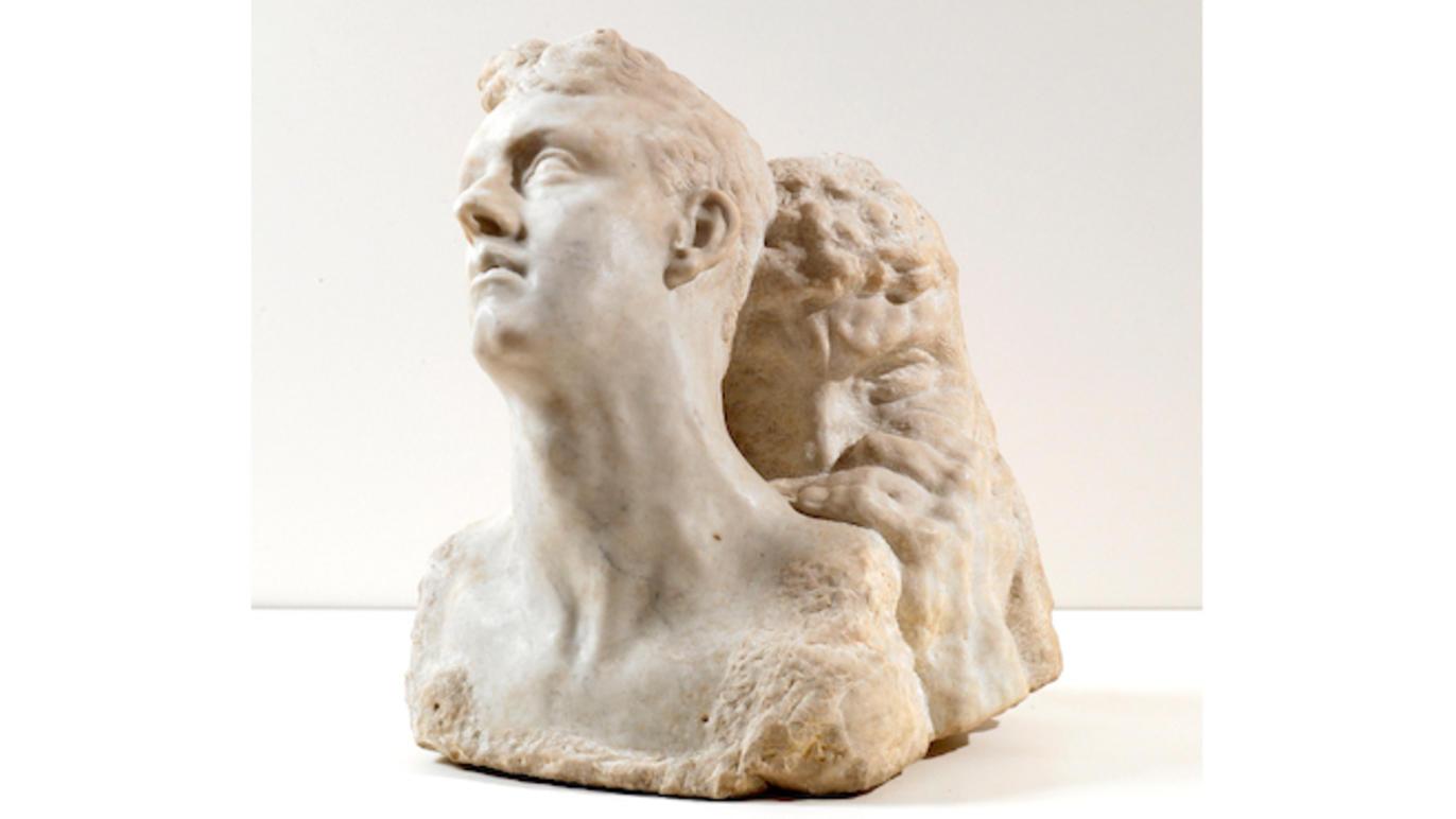 © Jean-Olivier Rousseau Antoine Bourdelle, 'Le Jour et la Nuit' (marbre), c.1900