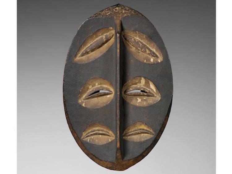 Musée du Quai Branly • Masque Lapicque (Gabon, XIXe siècle)