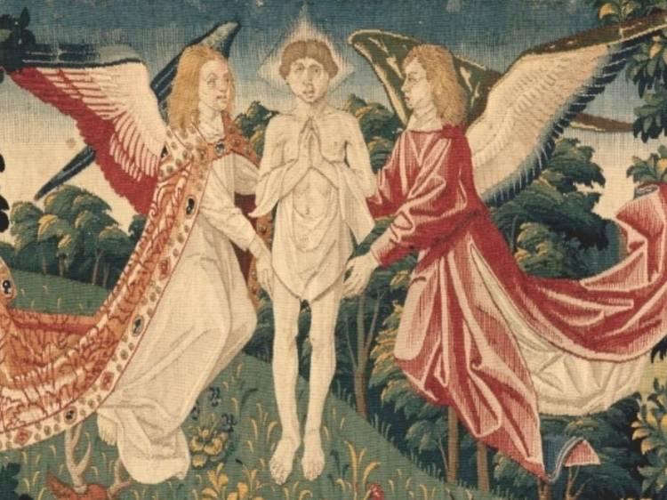 Musée de Cluny • Tenture de saint Etienne (Cartons de Gauthier de Campes, tissage de Guillaume de Rasse, c.1500)