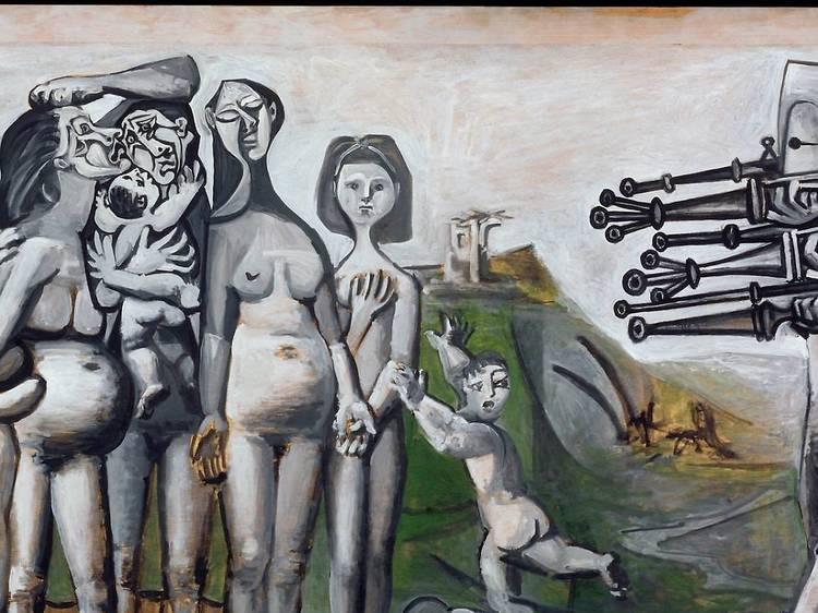 Musée Picasso • Massacre en Corée (Pablo Picasso, 1951)
