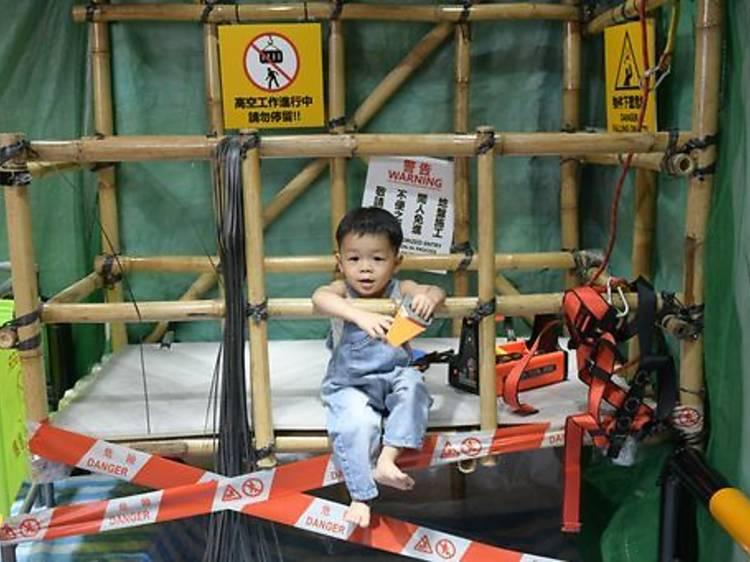 Qute Studio:全港首個真實竹棚兒童場景拍攝