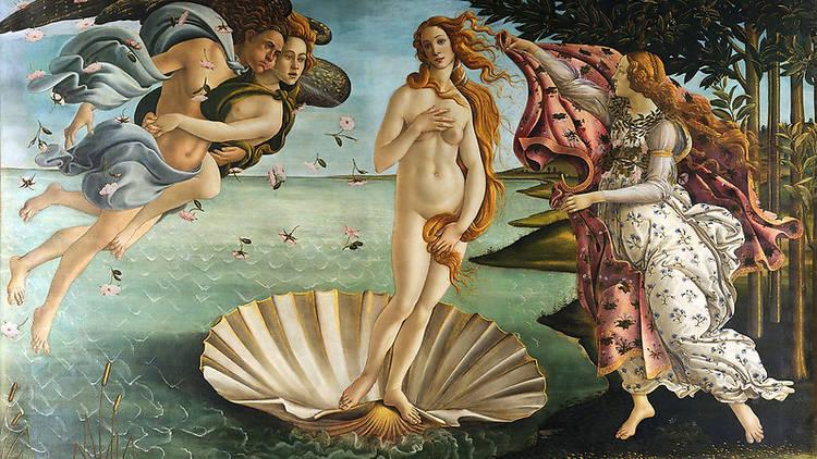 The Birth of Venus by Boticelli