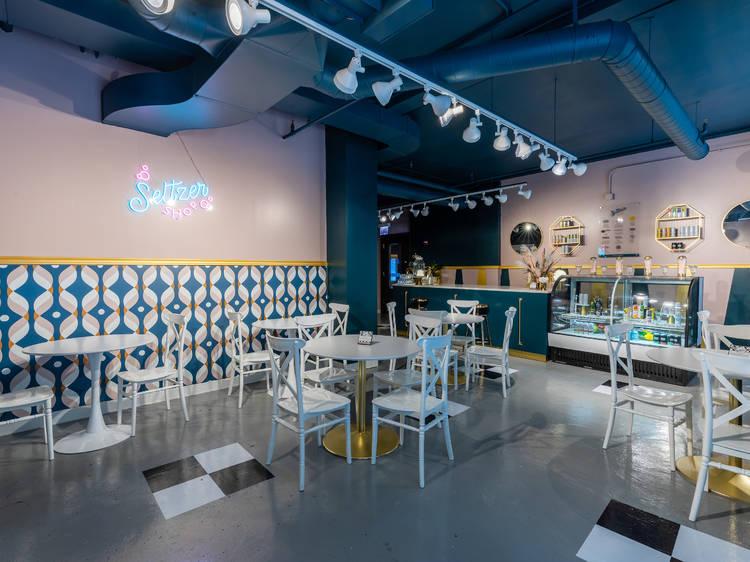The Seltzer Shop Pop-up Bar