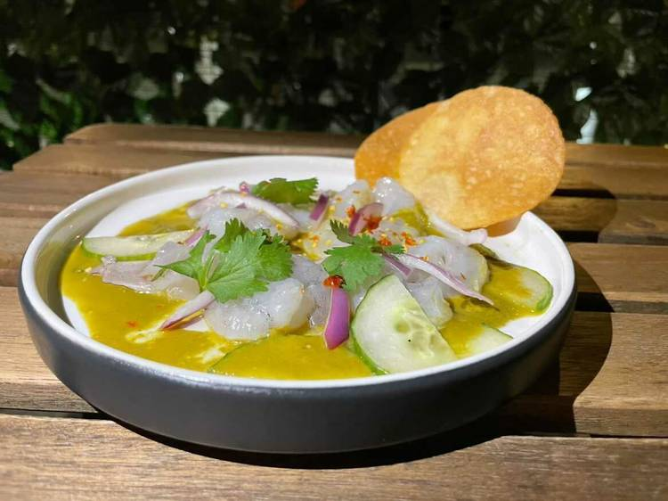 What to eat in Boston: Green aguachile from Barra