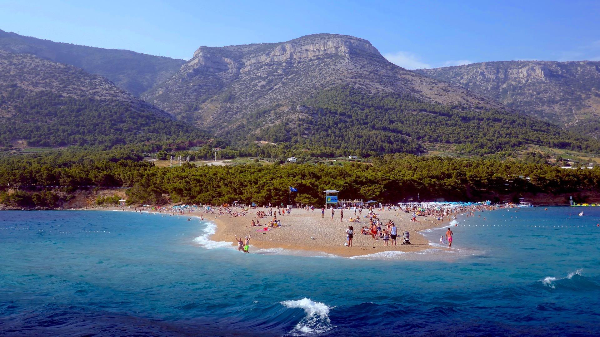 brac, brač, island, beach, otok, plaza, plaža