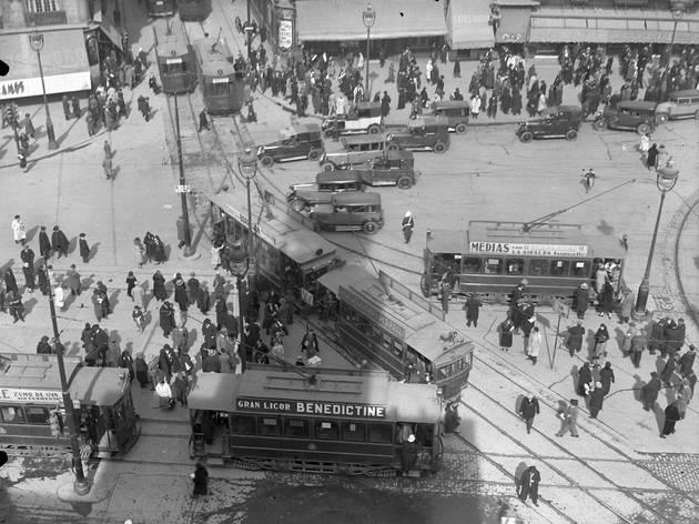 Exposición 150 años del primer tranvía en Madrid