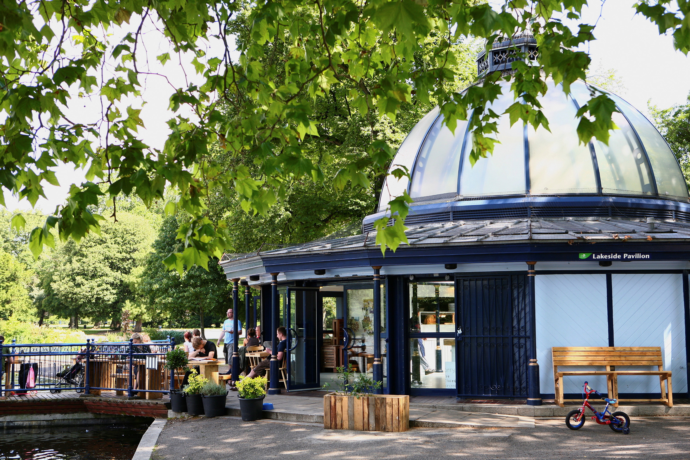 Pavillion Cafe Victoria Park