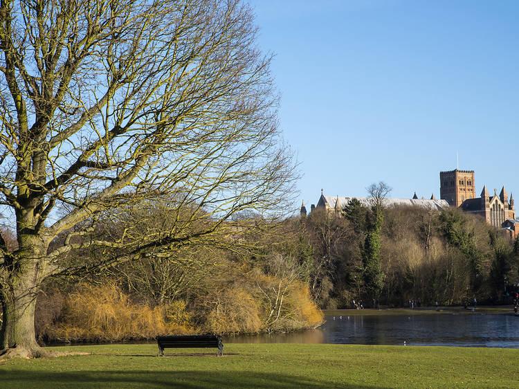 Verulamium Park, St Albans
