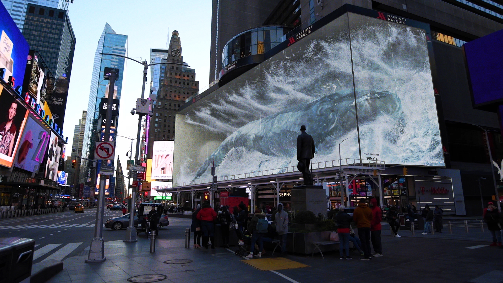 Whale 2 Times Square
