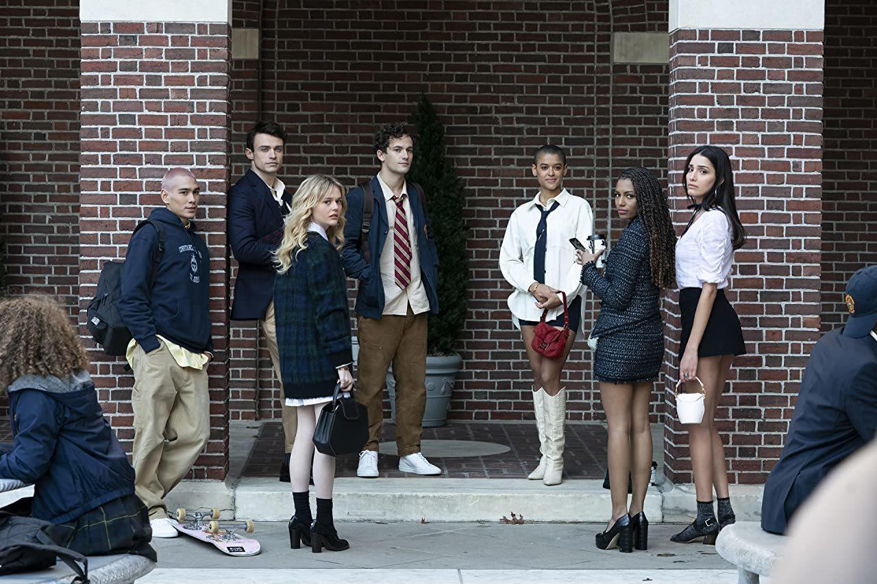 The reboot cast of Gossip Girl