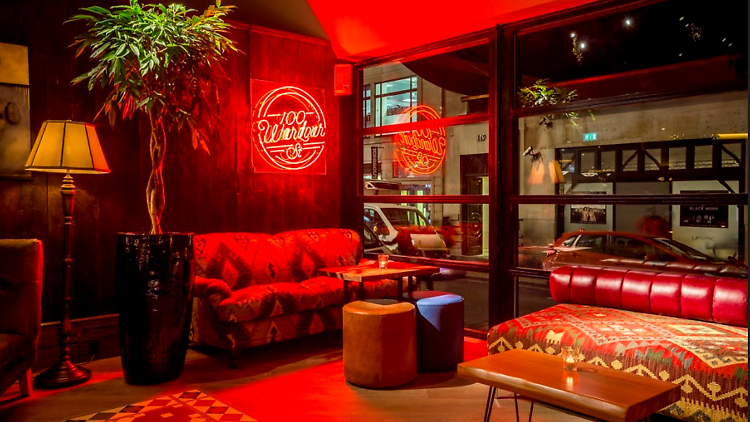 Order vaccine cocktails at this pop-up bar