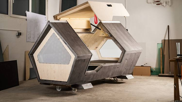 How pod houses are providing a way out of homelessness