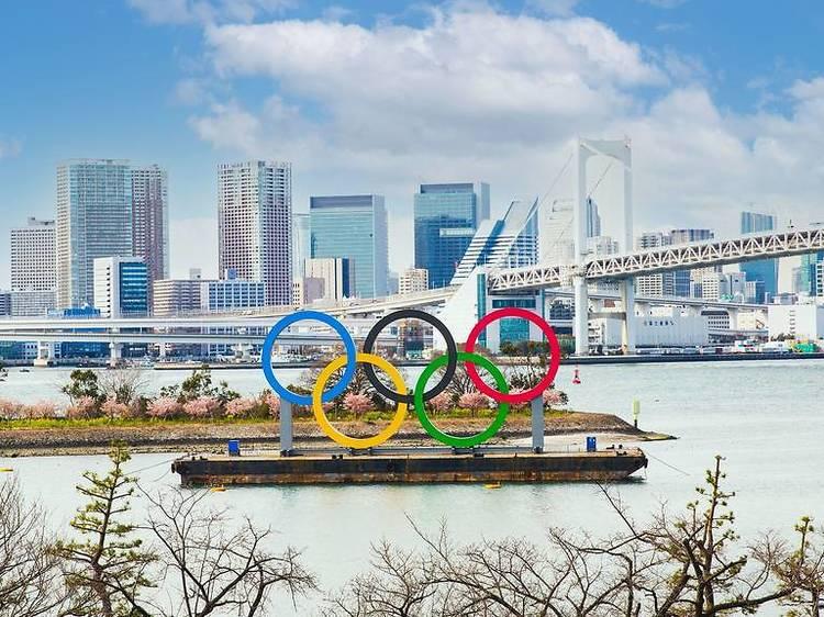 東京、五輪モニュメントがある5の場所