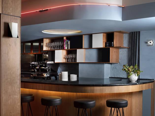 Inside Temperance Wine Bar