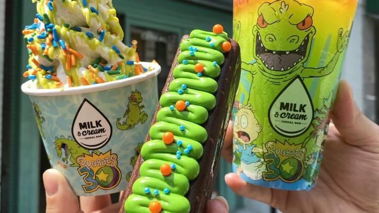 Milk & Cream Cereal Bar