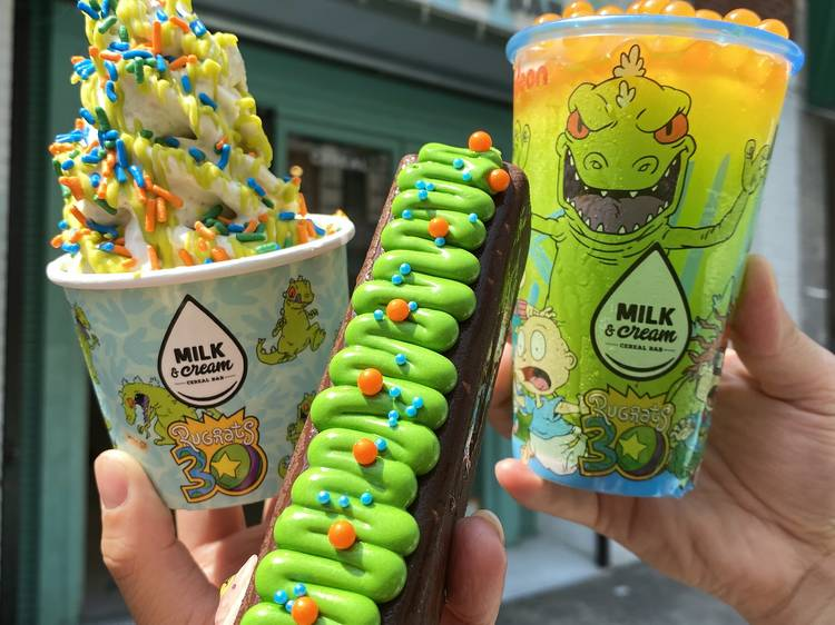 This NYC dessert spot is now serving up Rugrats ice cream