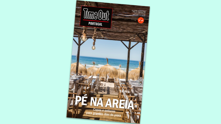 Time Out Portugal: Pé na areia
