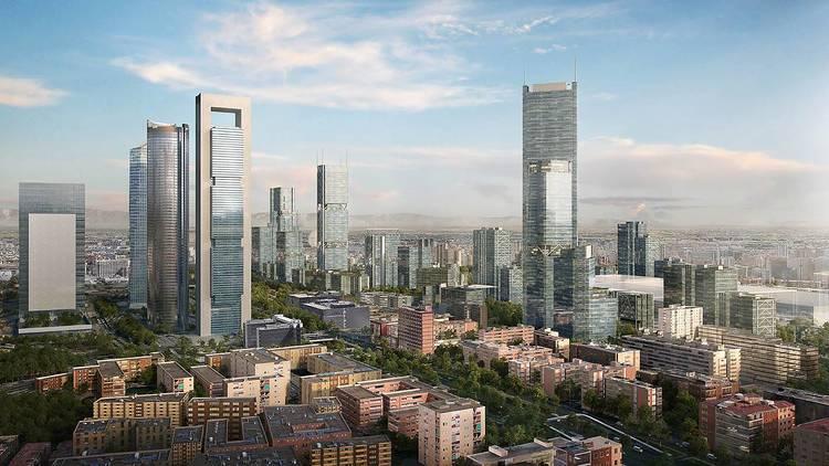 Skyline Madrid Nuevo Norte