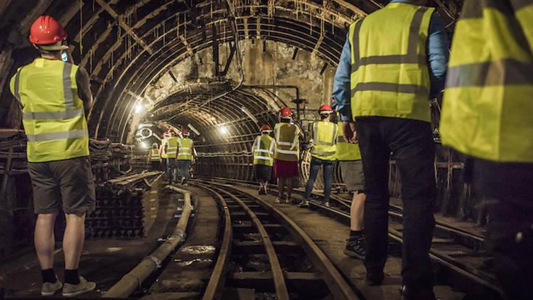 Postal Museum tunnel walks