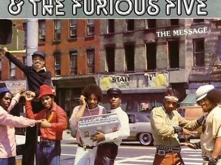 """""""The Message"""" by Grandmaster Flash and The Furious Five"""