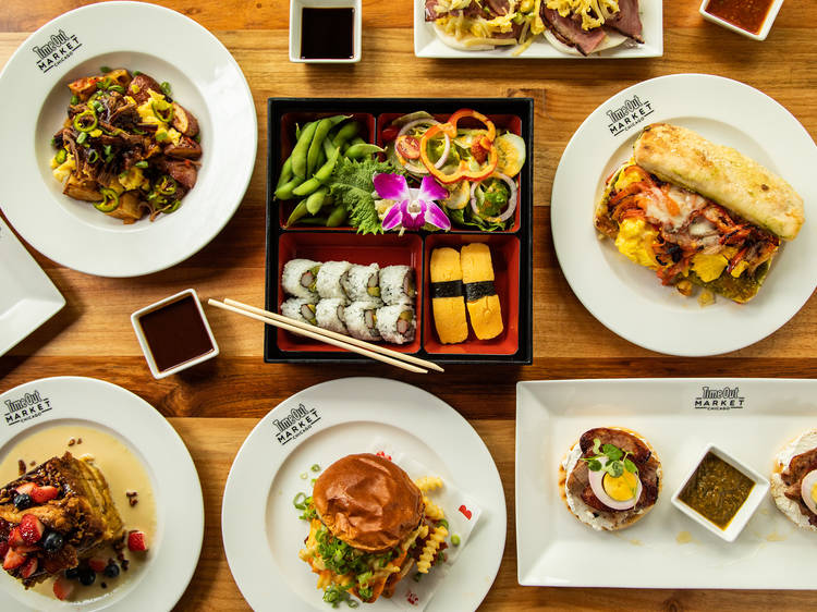 Check out the new brunch menu at Time Out Market Chicago