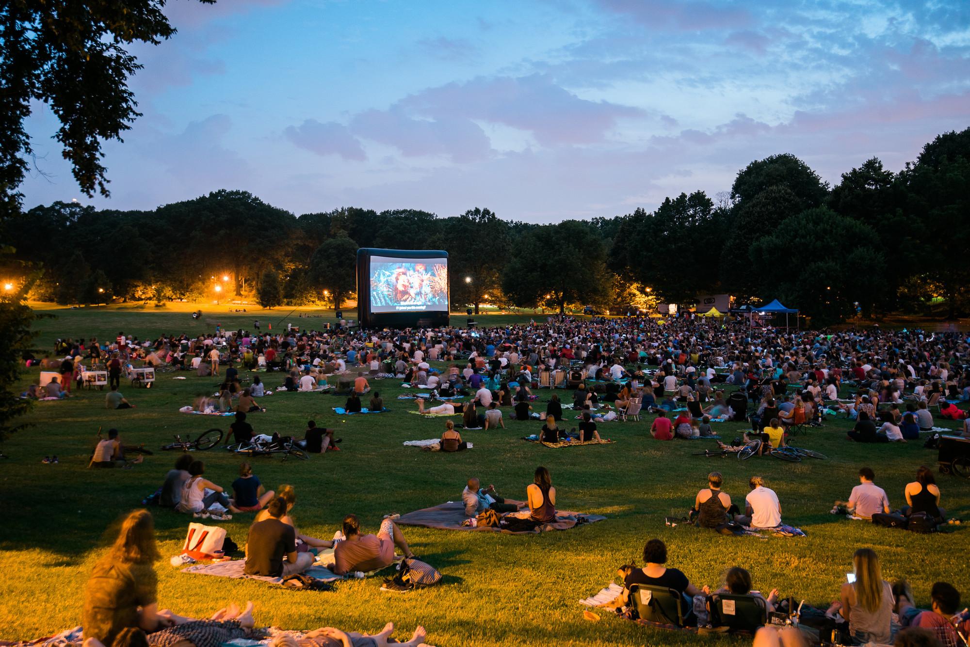 Prospect Park Movie under the stars