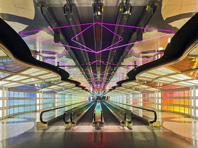 O'Hare Terminal 1 Neon