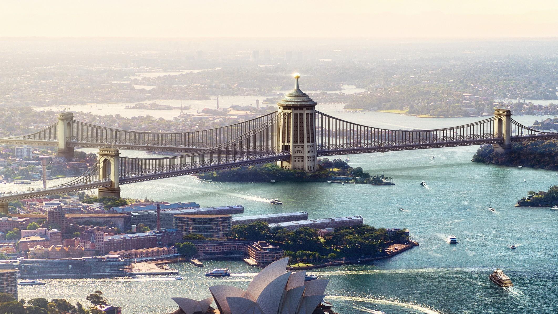 Sydney Harbour Bridge Design by F. Ernest Stowe