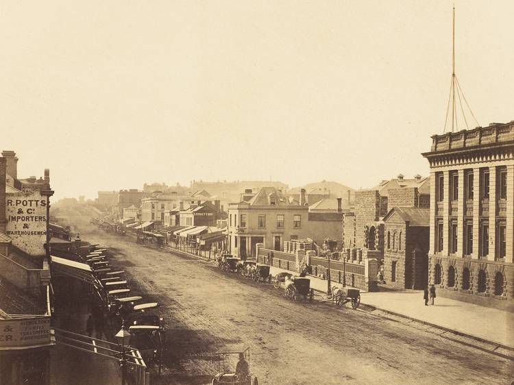 These are the oldest recorded photos of Melbourne