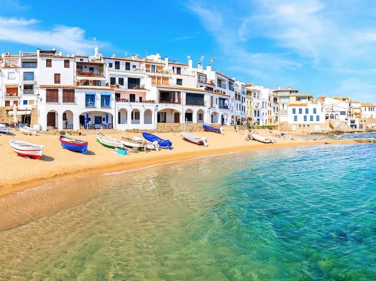 Playa del Port Bo (Calella de Palafrugell)