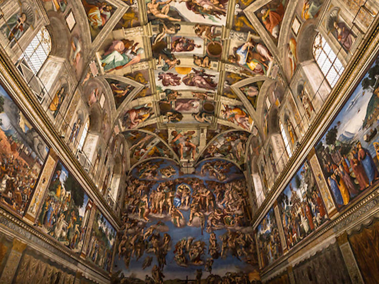 Be transported to the Sistine Chapel without leaving the city