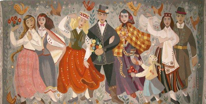 Tradición y modernidad. Arte textil de Letonia (Museo de Artes Decorativas)