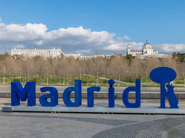 Letras Madrid Río