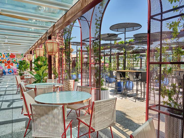 Tenemos una nueva y espectacular terraza a estrenar en Madrid