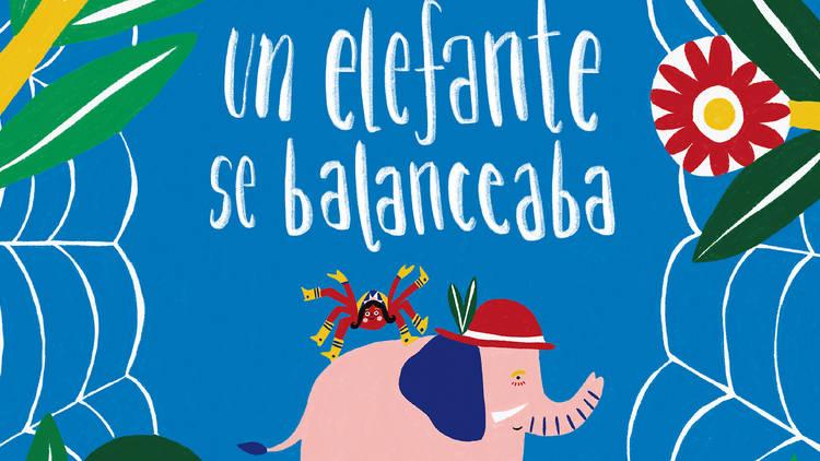 Portada de libro Un elefante se balanceaba escrito por Judy Goldman