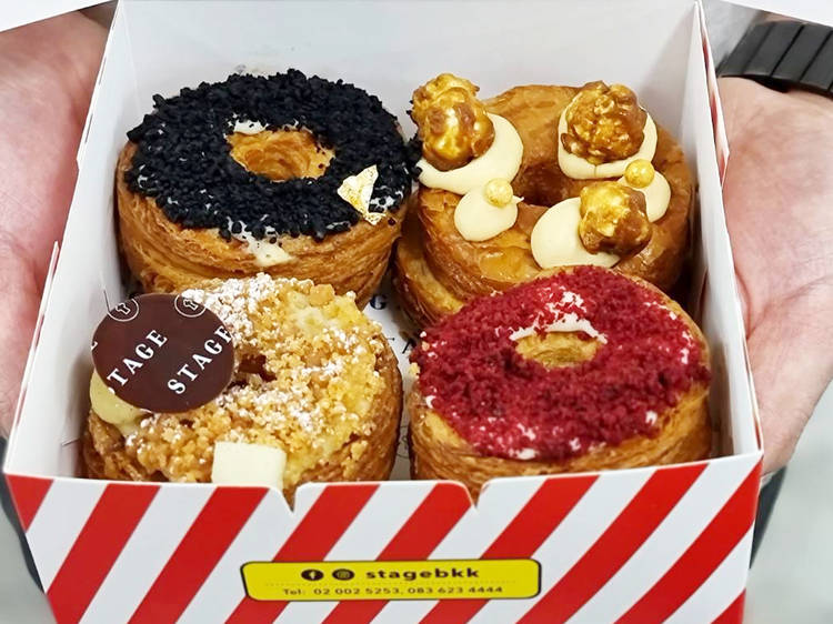 4 shops to get sweet, soft and flaky cronuts in Bangkok