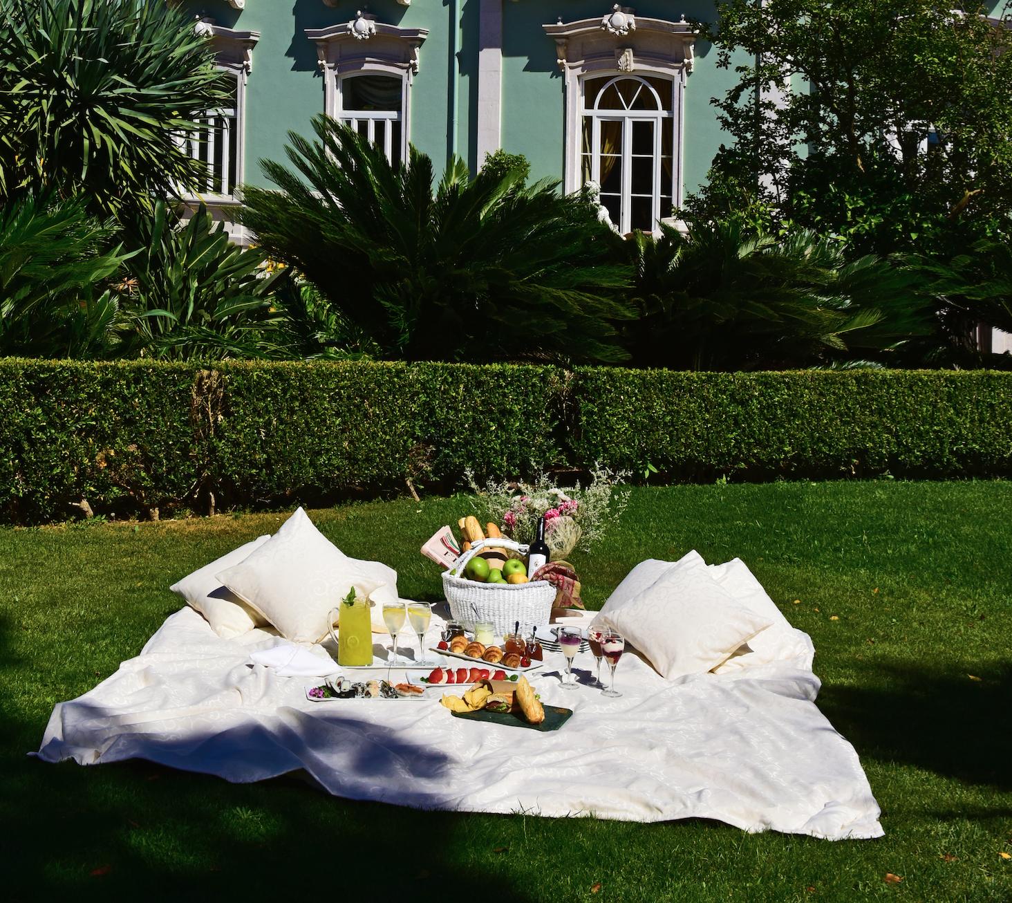 Tardes de Verão no palácio: os piqueniques mais chiques da cidade estão de volta