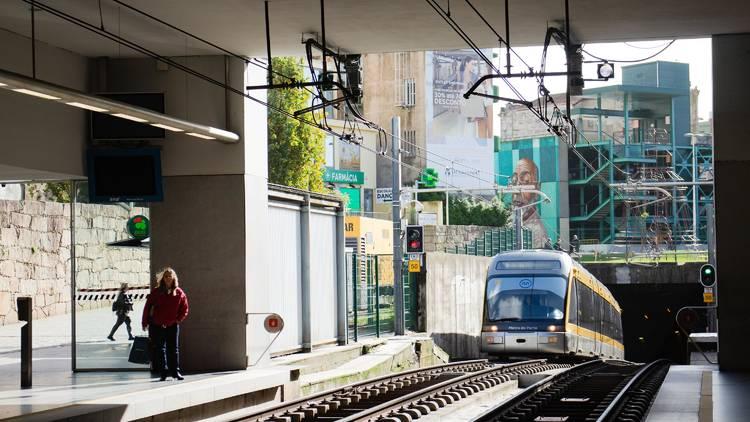Estação de Metro da Trindade