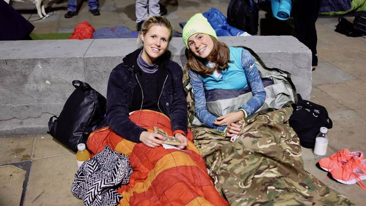 Sleep out to help out