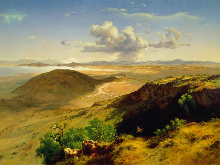 El Valle de México, José María Velasco