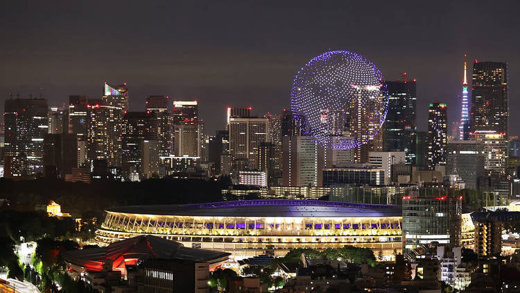 Tokyo Olympics, Olympics opening ceremony, drones