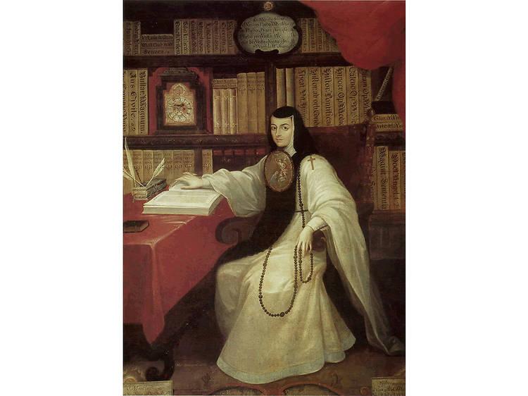 Retrato de Sor Juana Inés de la Cruz, Miguel Mateo Maldonado y Cabrera