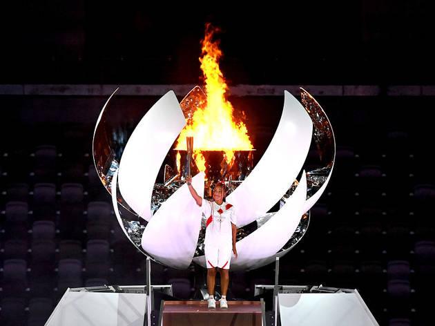 Tokyo Olympics opening ceremony – Naomi Osaka