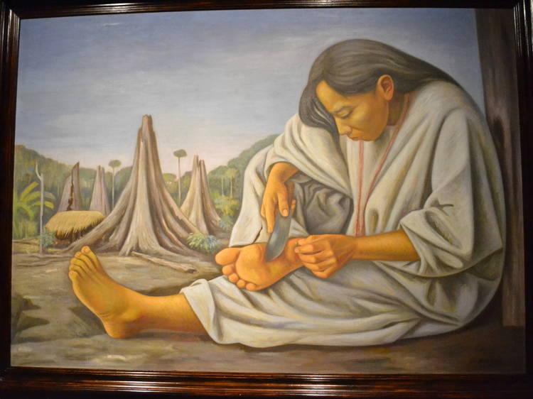 La Espina, Raúl Anguiano