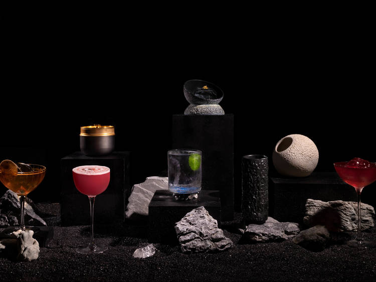 DarkSide's new moon-inspired cocktail menu