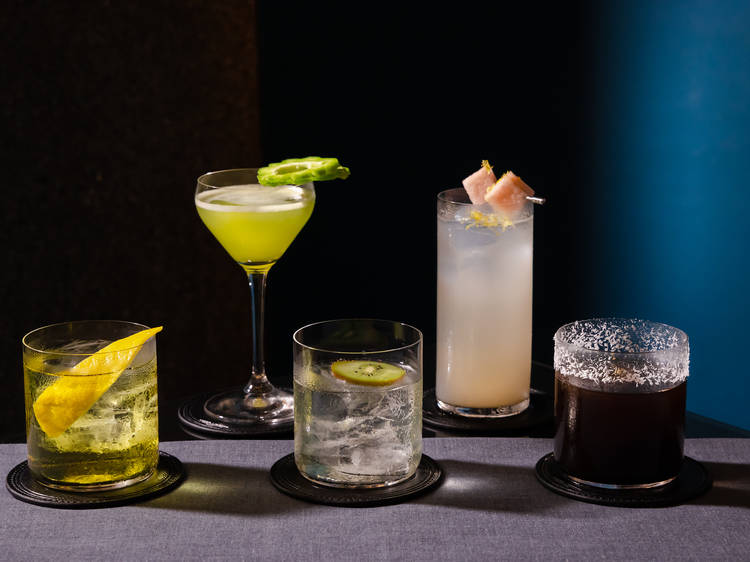 The Poet's new cocktail menu