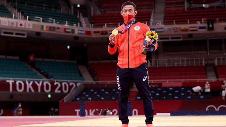 Naohisa Takato Tokyo Olympic gold medal win