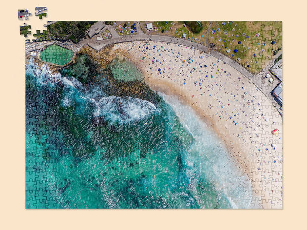 You can buy 1000 piece puzzles of Sydney's famous beaches from a local gallery