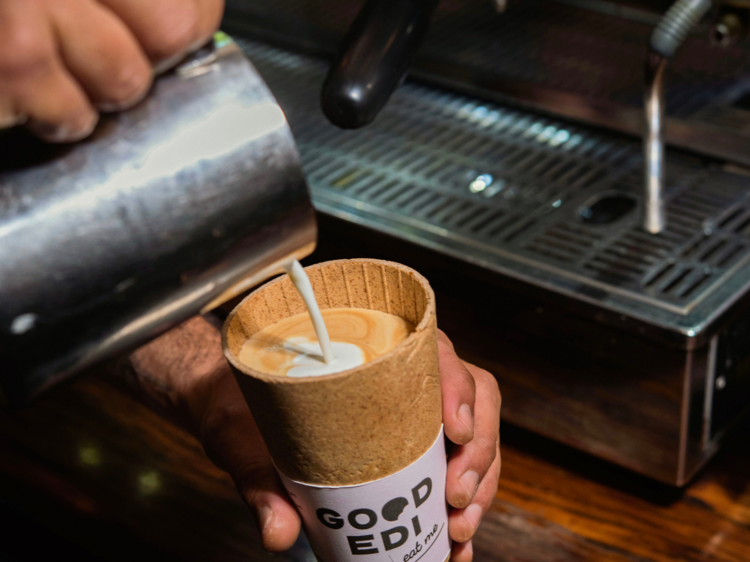 Introducing the Good-Edi Cup, a takeaway cup you can eat