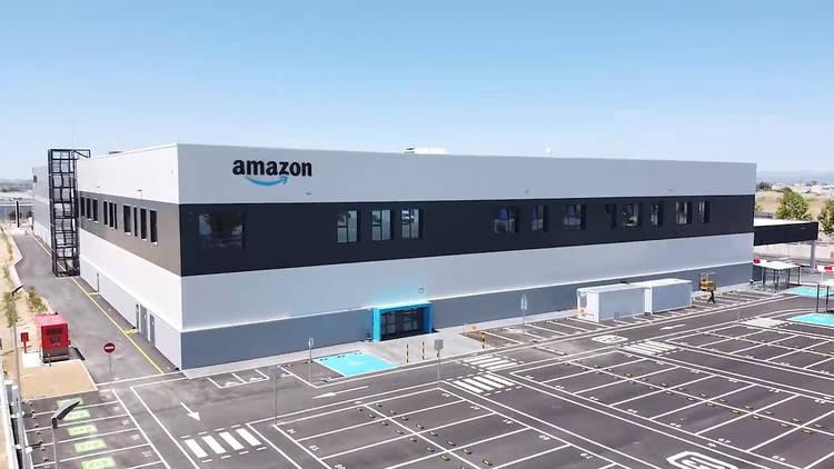 Estación logística Amazon Móstoles